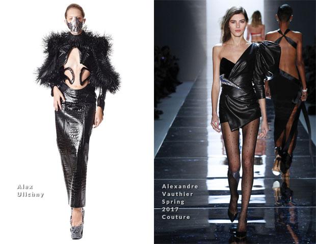 7b20a40adadc Lady Gaga s Three 2017 Grammy Awards Outfits - Red Carpet Fashion Awards