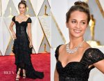 Alicia Vikander In Louis Vuitton - 2017 Oscars