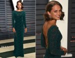 Alicia Vikander In Louis Vuitton - 2017 Vanity Fair Oscar Party