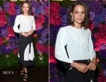 Alicia Vikander In Louis Vuitton - Bvlgari Pre-Oscar Dinner