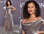 Aluna Francis In Vivienne Westwood Couture Collection - amfAR New York Gala