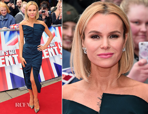 Amanda Holden In Carmen March - 'Britain's Got Talent' Birmingham Auditions