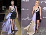 Amber Valletta In Atelier Versace - amfAR New York Gala