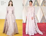 Amelia Warner In Emilia Wickstead - 2017 Oscars