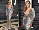 Amy Adams In Tom Ford - 2017 Vanity Fair Oscar Party