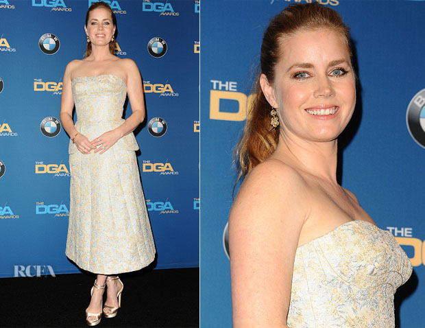 Amy Adams In Ulyana Sergeenko Couture - 2017 Directors Guild Of America Awards
