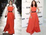 Andie MacDowell In Bottega Veneta - Elton John AIDS Foundation's Academy Awards Viewing Party