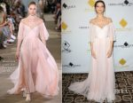 Angela Sarafyan In Monique Lhuillier - 53rd Annual Cinema Audio Society Awards