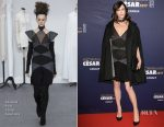 Anna Mouglalis In Chanel Couture - 2017 César Film Awards