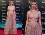 Anya Taylor-Joy In Elie Saab - EE British Academy Film Awards Gala Dinner