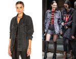 Bella Hadid's Alexander Wang Daze jacket