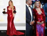 Beyonce Knowles In Peter Dundas - 2017 Grammy Awards Press Room