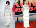 Brie Larson In Ralph & Russo Couture - 'Kong: Skull Island' London Premiere
