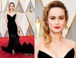 Brie Larson In Oscar de la Renta - 2017 Oscars