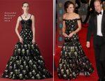 Catherine, Duchess of Cambridge In Alexander McQueen - 2017 BAFTAs