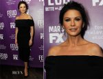 Catherine Zeta Jones In Pamella Roland - 'Feud' Tastemaker Dinner
