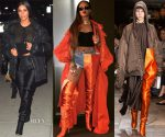 Celebrities Love...Vetements X Manolo Blahnik Satin Boots