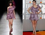 Charli XCX In Andreas Kronthaler for Vivienne Westwood - 2017 BRIT Awards