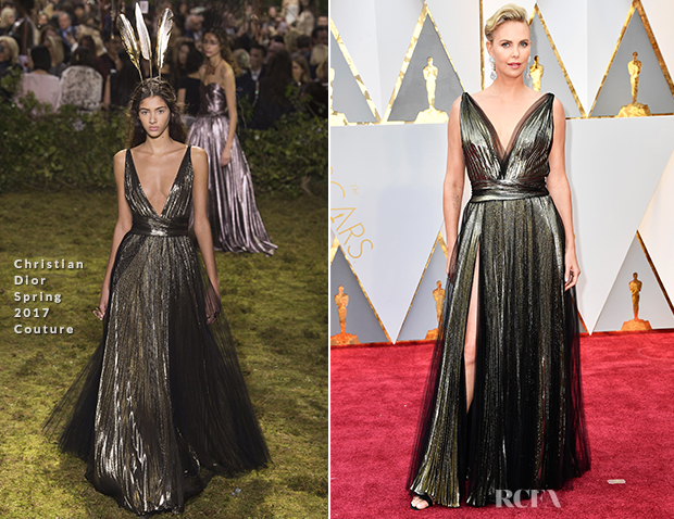 Charlize Theron In Christian Dior Couture - 2017 Oscars ...