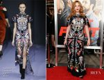 Christina Hendricks In Temperley London - 'Fist Fight' LA Premiere
