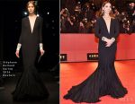 Clotilde Courau In Stéphane Rolland Couture - 'Django' Berlin Film Festival Premiere