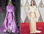 Dakota Johnson In Gucci – 2017 Oscars