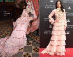 Dakota Johnson In Gucci - 'Fifty Shades Darker' Madrid Premiere