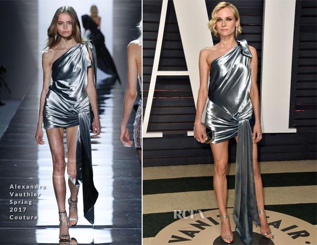 bdd9733e Diane Kruger In Alexandre Vauthier Couture – 2017 Vanity Fair Oscar Party