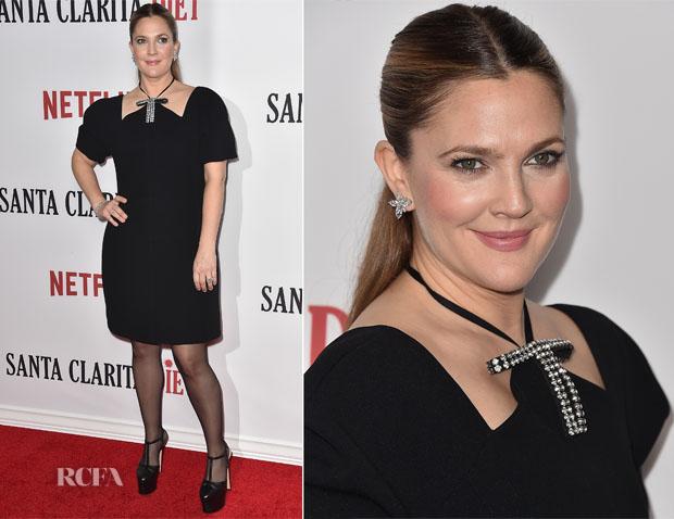 Drew Barrymore In Marni - Netflix's 'Santa Clarita Diet' Premiere