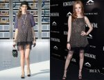 Ellie Bamber In Chanel - Los Angeles Confidential Celebrates Spring Oscars Issue