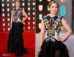 Emily Blunt In Alexander McQueen - 2017 BAFTAs