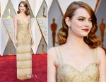 Emma Stone In Givenchy Couture - 2017 Oscars