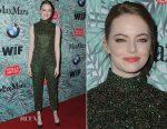 Emma Stone In Prada - 10th Annual Women In Film Pre-Oscar Cocktail Party