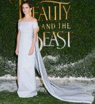 Emma Watson In Emilia Wickstead - 'Beauty and the Beast' London Premiere