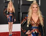 Erika Jayne In Balmain - 2017 Grammy Awards