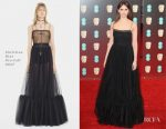 Felicity Jones In Christian Dior - 2017 BAFTAs