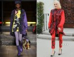 Gwen Stefani In Moschino - Church Visit