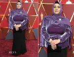Hala Kamil In Brandon Maxwell - 2017 Oscars
