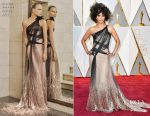 Halle Berry In Atelier Versace - 2017 Oscars