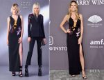Heidi Klum In Versace - amfAR New York Gala