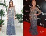 Helen Mirren In Needle & Thread - BFI Chairman's Dinner
