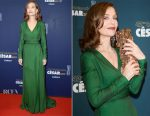 Isabelle Huppert In Christian Dior Couture - 2017 César Film Awards