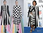 Janelle Monáe In Salvatore Ferragamo - 2017 Film Independent Spirit Awards