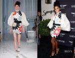 Janelle Monae In Reem Acra - Vanity Fair And Genesis Celebrate 'Hidden Figures'