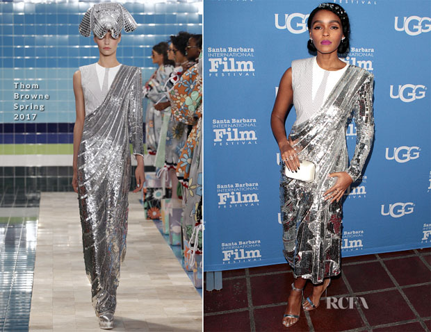 Janelle Monae In Thom Browne -  Virtuosos Tribute