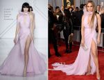 Jennifer Lopez In Ralph & Russo Couture - 2017 Grammy Awards