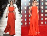 Jessica Brown Findlay In Bottega Veneta - 2017 BAFTAs