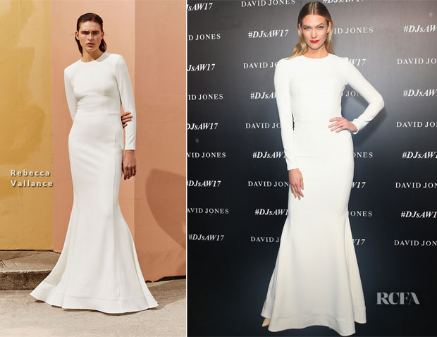 Karlie Kloss In Rebecca Vallance - David Jones Autumn Winter 2017 Collections Launch