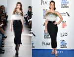 Kate Beckinsale In Pamella Roland - 2017 Film Independent Spirit Awards