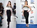 Kate Beckinsale In Pamella Roland - 2017 Film Independent Spirit Awards